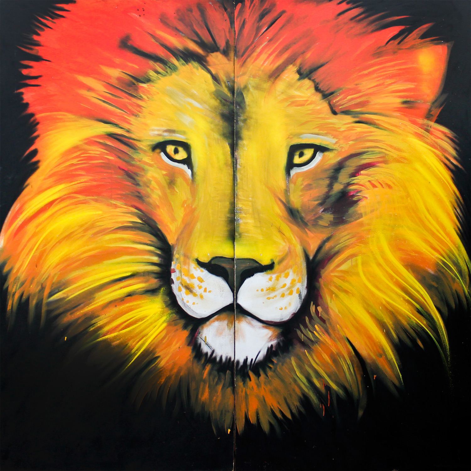 lion-of-juda-street-art-graffiti-nicolas-trouvé
